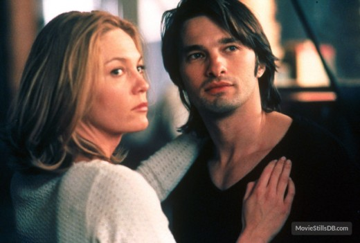 "Diane Lane and Olivier Martinez in, ""Unfaithful"""