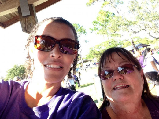At a Lupus Walk in Melbourne, Florida