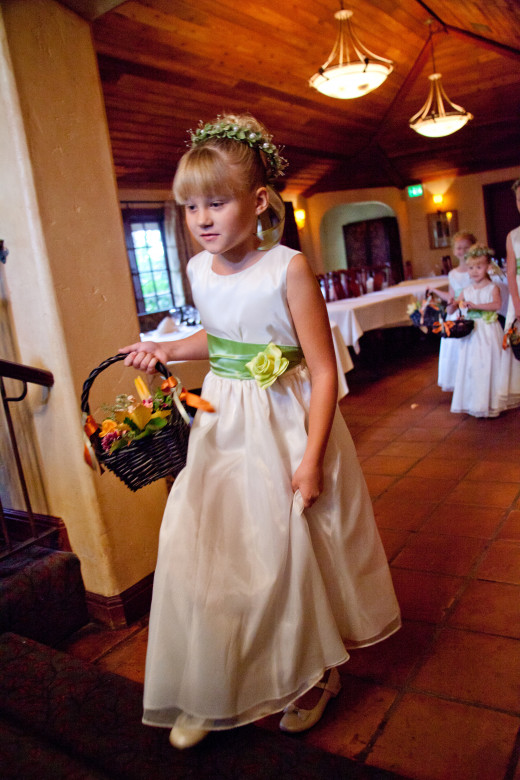 "My Niece, ""Tina"" Makes Her Long-Anticipated Approach to Walk Down the Aisle."