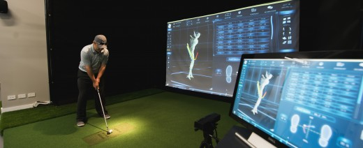 The 3D swing analysis bay i used