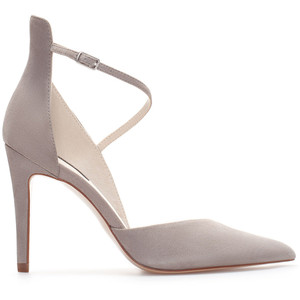 Soft grey pump - neutrals are on trend