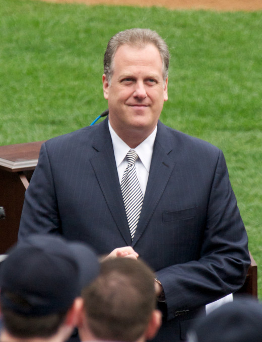 New York Yankees TV announcer Michael Kay