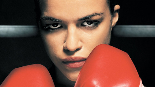 "Michelle Rodriguez in ""Girlfight"""