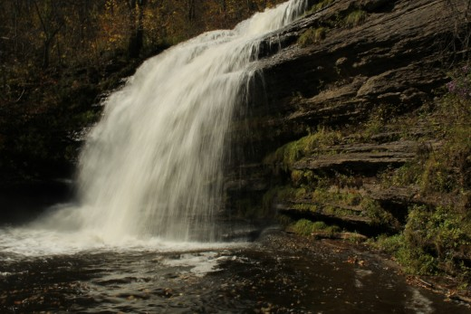 Pixley Falls the perfect place to visit and have a day away escape. The charming 50 foot waterfall, a photographer's dream, nature path has twists throughout the woodland.