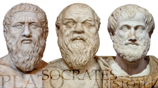 Socrates, Plato and Aristotle were the first three to argue for the existence of God