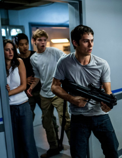 The Gladers with a gun