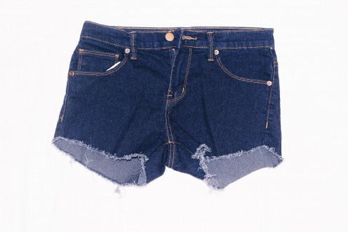 This was the first shorts I have made. This is what the shorts will looks like when you just put it straight in the washing machine.