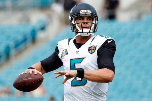 If the offense plays like it did against Carolina, Blake Bortles and the rest of the Jaguars can expect to be playing in front of empty seats.