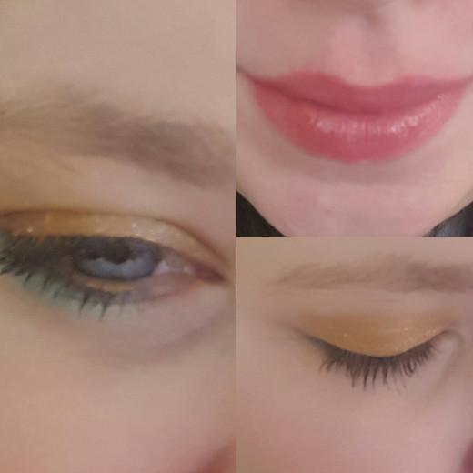 Final makeup look!