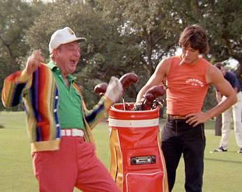 Rodney Dangerfield and Scott Columby, Caddyshack