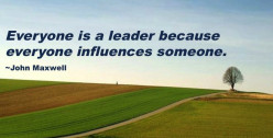 Everyone Is A Leader