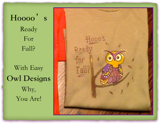 Calling all owls for little ones' tee shirts!
