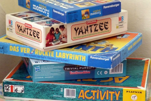 Many of the old board games can still be had today