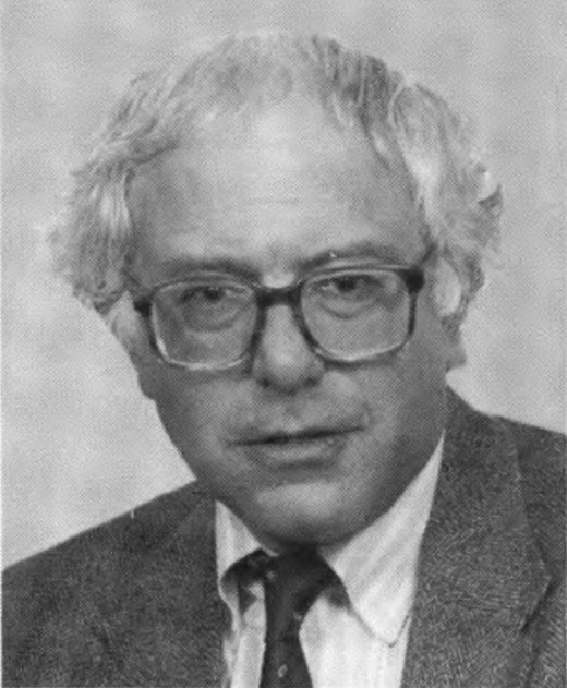 Even when wearing thick birth control glasses, Bernie is a badass.