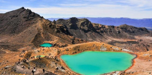 World Heritage rates the Tongariro Alpine Crossing as the number one day hike in the world.