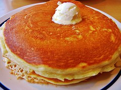 Fluffy pancakes cooked to perfection
