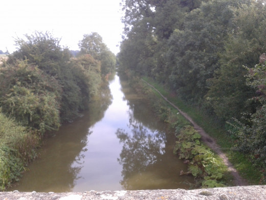 K&A canal, west of Wootton Bridge