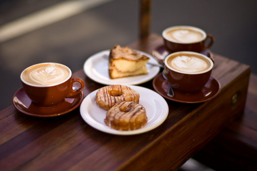 Roamler will let you buy cake and coffee to check out the service, then pay you for doing it!