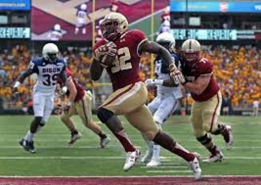 RB Jon Hilliam (Boston College)