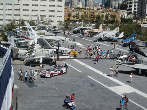 Aircraft Aboard USS Midway Museum
