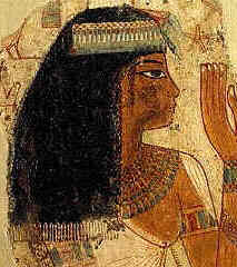 Egyptian shaved their heads to survive the hot climate they lived in. Wigs were a way for Ancient Egyptians.