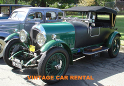 Vintage Car Rental Services