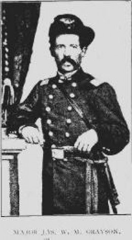 Col J.W.M. Grayson finally had to use his pistol to keep the group from NC from lynching Dula on the spot when he was found and captured in Tennessee.