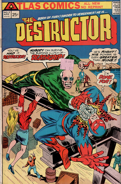 Find good graphic images in old comics