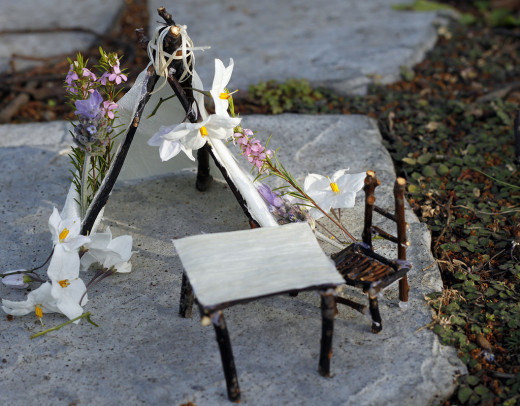 Tiny Table and Chair