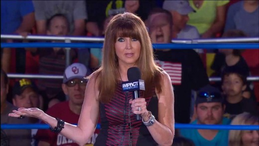 Confused Dixie Carter can't figure out what's wrong with TNA's ratings