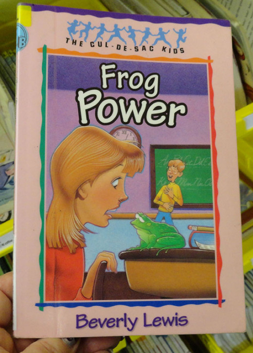 Frog Power, an Easy Reader.