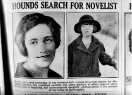 Newspaper article from Christie's disappearance.