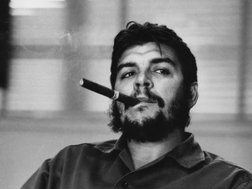 Ernesto Guevara during the Cuban Revolution