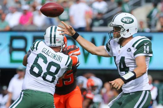 NY Jets QB Ryan Fitzpatrick