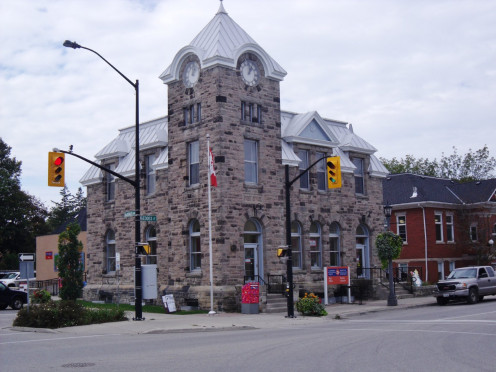 Post Office, 1911, Elora, Ontario