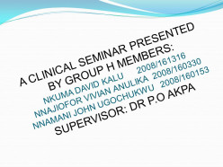 Clinical Seminar on Canine Parvoviral enteritis
