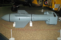 The Fritz-X at the RAF Museum in London