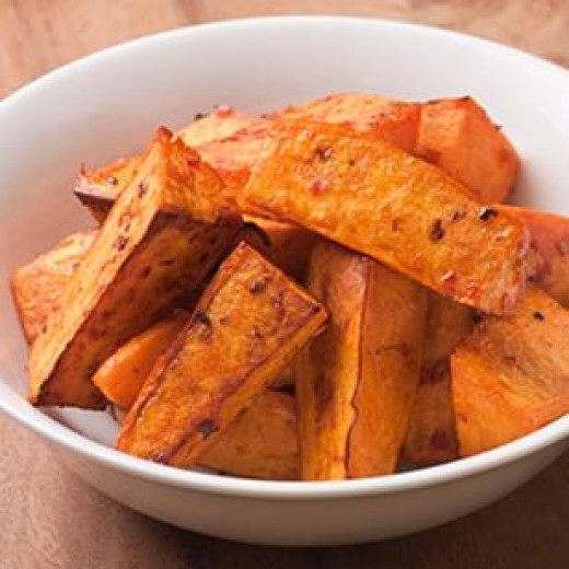 Squash fries are full of flavor and vitamins.