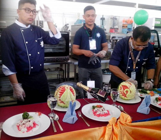 THE MPCF (MARINERS) CULINARY STUDENTS Photo Source: Ireno Alcala