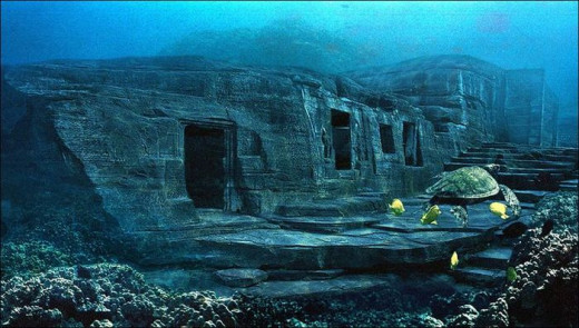 Many archeologists and historians would have the public accept that these ruins at the bottom of the Pacific Ocean off the coast of Japan are natural rock formations.