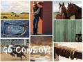 Ideas for Kids' Western, Cowboy, Cowgirl Bedroom Décor