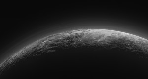 Pluto at 'twilight'