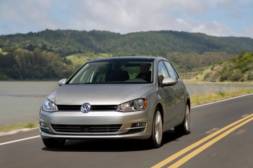 The 2015 Volkswagen Golf TDI.