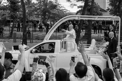 Pope Francis Pope Mobile