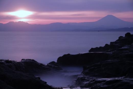 Sunset from Enoshima