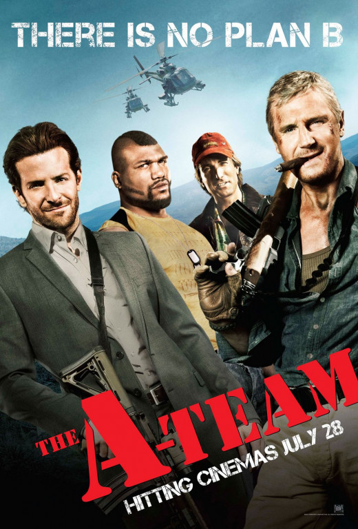 "Promotional poster for ""The A-Team"""