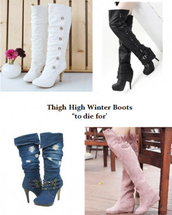 Stylish Winter Boots: Over-the-Knee Boots for Women