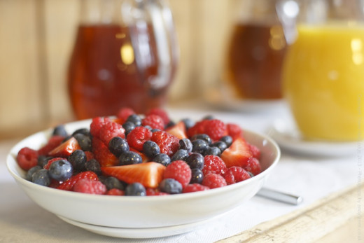 berries have antioxidants