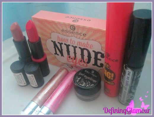 2 Lipsticks, Nude Palette, 2 Mascara's, 2 Lip Glosses, & 1 Black Eyeliner