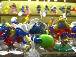 A variety of smurf figurines are currently on the market for collectors!